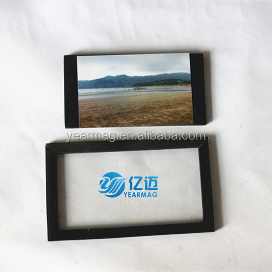 Custom made cheap EVA photo picture frame with strong adhesiveon the back for promotion