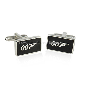 43daf338bc0 Men Accessories Sterling Silver 007 Movie Factory Direct Cufflinks ...