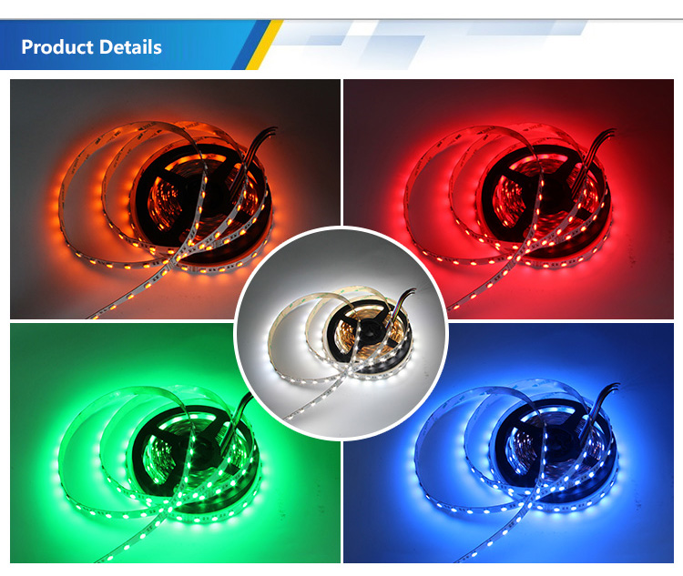 wholesale dc24v rgbw plus orange 5 in 1 led rgbww led strip for ktv