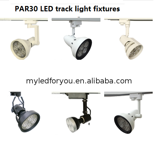 Track spot light system lighting with pendants and spots bulbs replacement track light e27