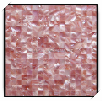 Natural Color Pink Shell Mosaic Ceramic Floor Tile Buy