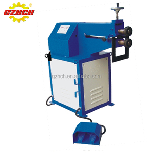 China high quality rotary roller swaging machine, round duct beading machine for spiral duct