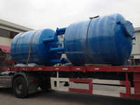 filtration system with pressure sand filter and activated carbon filter