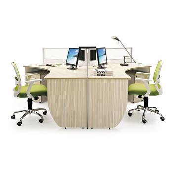 Moderne Modulare Büromöbel Hersteller 3 Person Workstation ...