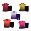 Wholesale Women Fitness Cheap Gym Training Sport Shirt and Pants soccer ball football jersey