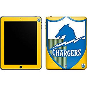 NFL San Diego Chargers iPad Skin - San Diego Chargers Retro Logo Vinyl Decal Skin For Your iPad