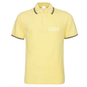 Retail Side Seam Foam Printing Pique Polo Shirt Made In Bangladesh