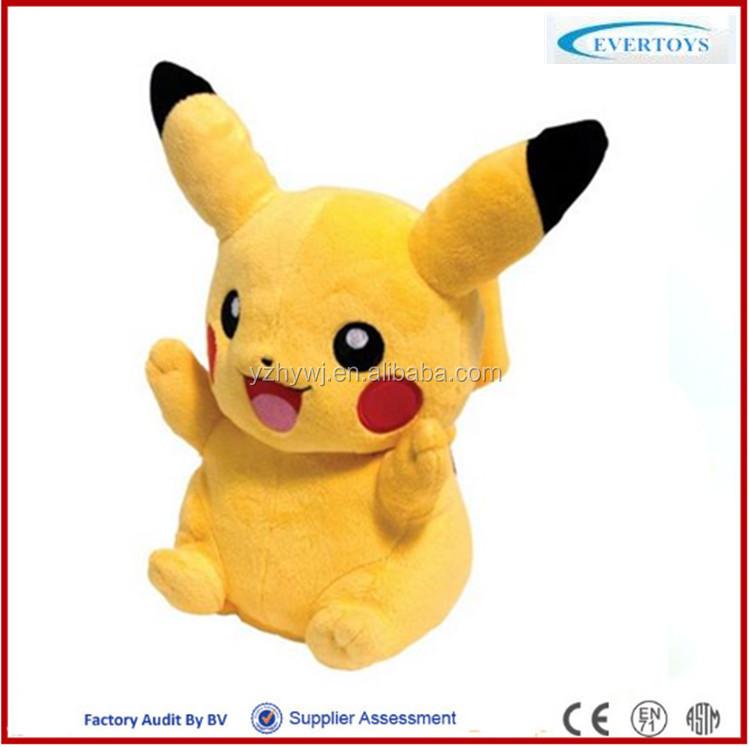 pokemon pikachu plush doll pikachu plush pika plush stuffed animal