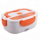 Wholesale Plastic PP portable eco-friendly electric heated lunch box inner stainless 304 for kids