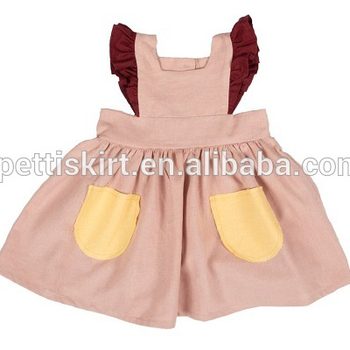 Gorgeous Baby Dress Cutting 1 6 Years Old Baby Girls Linen Dress