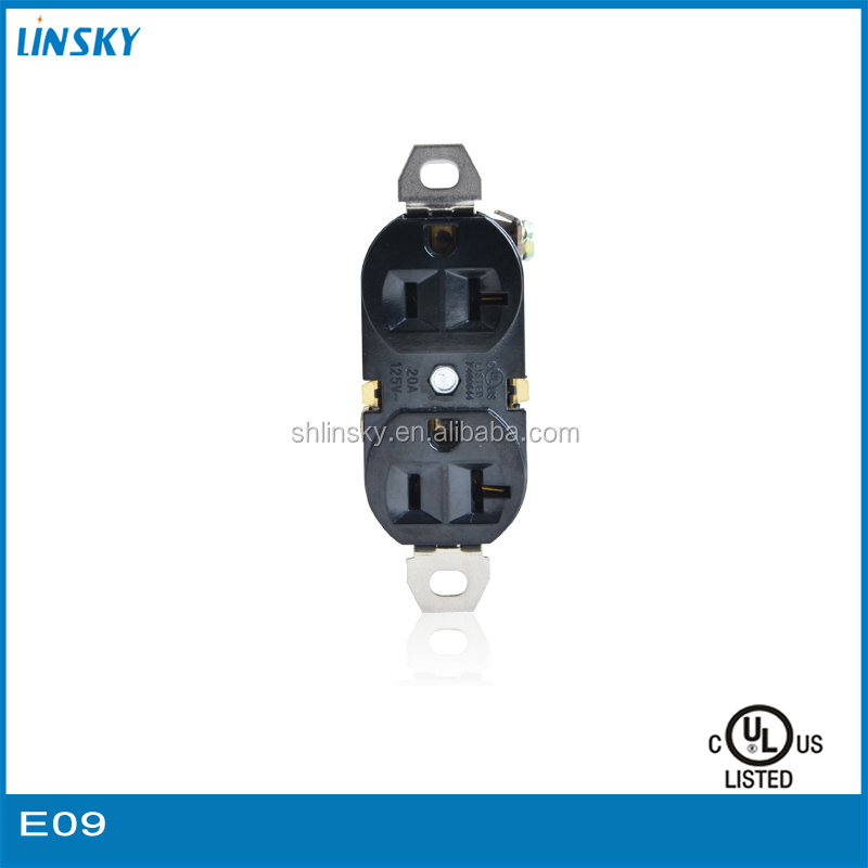 UL approved 20A 125V Master Slave Power Socket