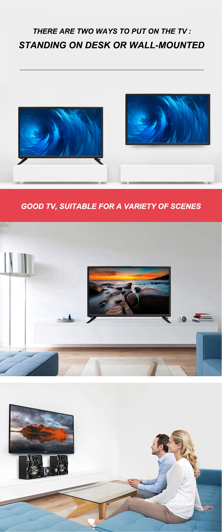 LED TV 32 inç akıllı TV
