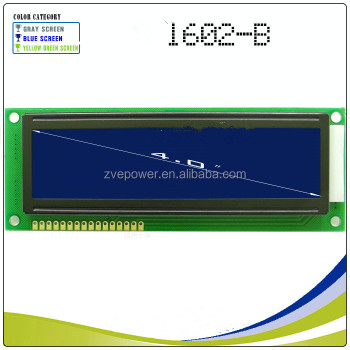 1602B LCD large character dot matrix 1602 5V blue screen module