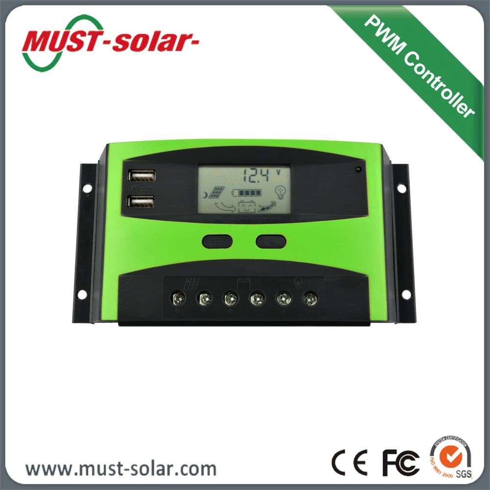 solar system 20a manual pwm solar charge controller for. Black Bedroom Furniture Sets. Home Design Ideas