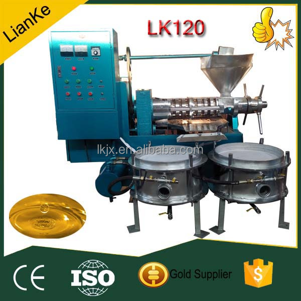 Coconut cold expeller oil machine/castor cold expeller oil machine/caster cold pressing oil machine