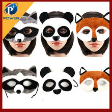 Dier <span class=keywords><strong>Maskers</strong></span> voor Halloween Masquerade Party Masker Versierd