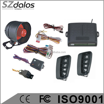 Hot car central locking keyless entry system one way car alarm alarme de voiture