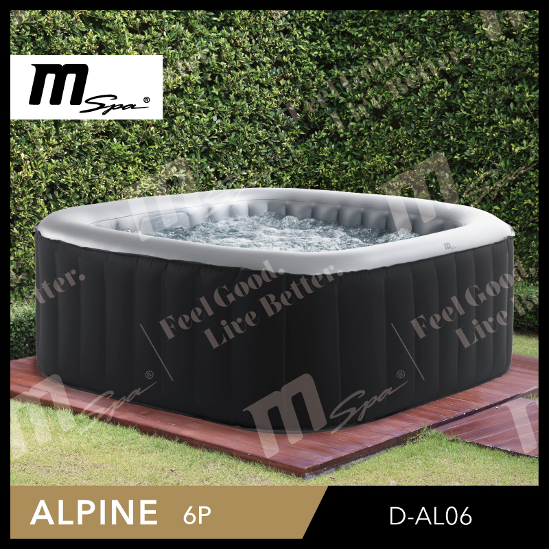 4 Person Inflatable Portable Spa And Air Bubble Whirlpool