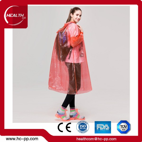 Portable Adult Disposable Raincoat Necessary Outdoor Travel Tools