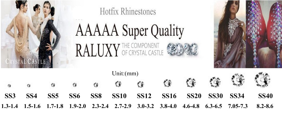 product-Wholesale Price DIY Jewelry Hair 6SS Flatback Crystal AB Hotfix Crystal Rhinestone-Jpstrass