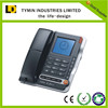 TM-PA075 telephone number caller id telephone with large lcd for elderly