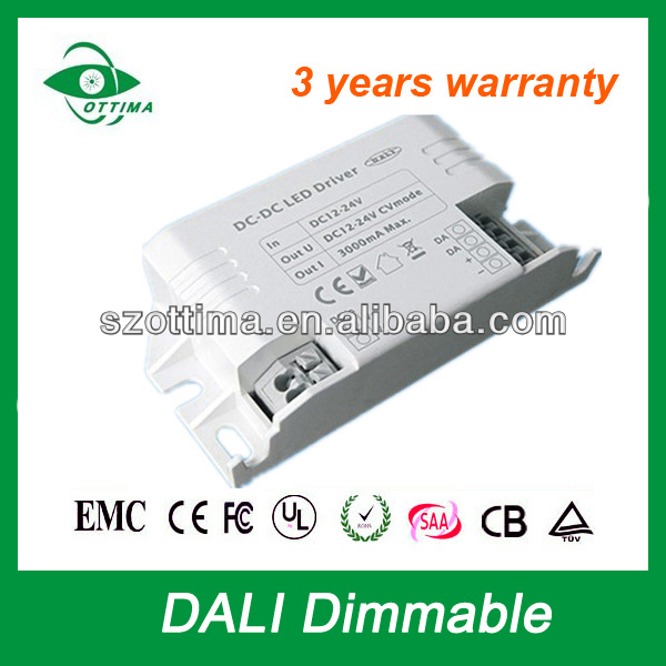 1800ma 3 years warranty CE SAA UL approved High quality dali 90w switch power supply