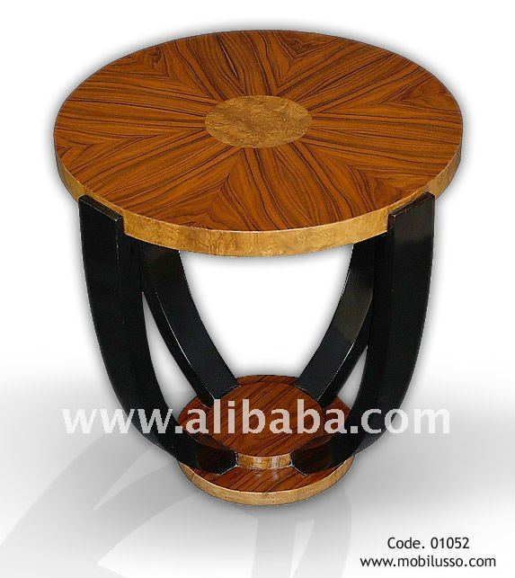 Elegant Art Deco Style Round Side Table - Buy Coffee Table Side ...