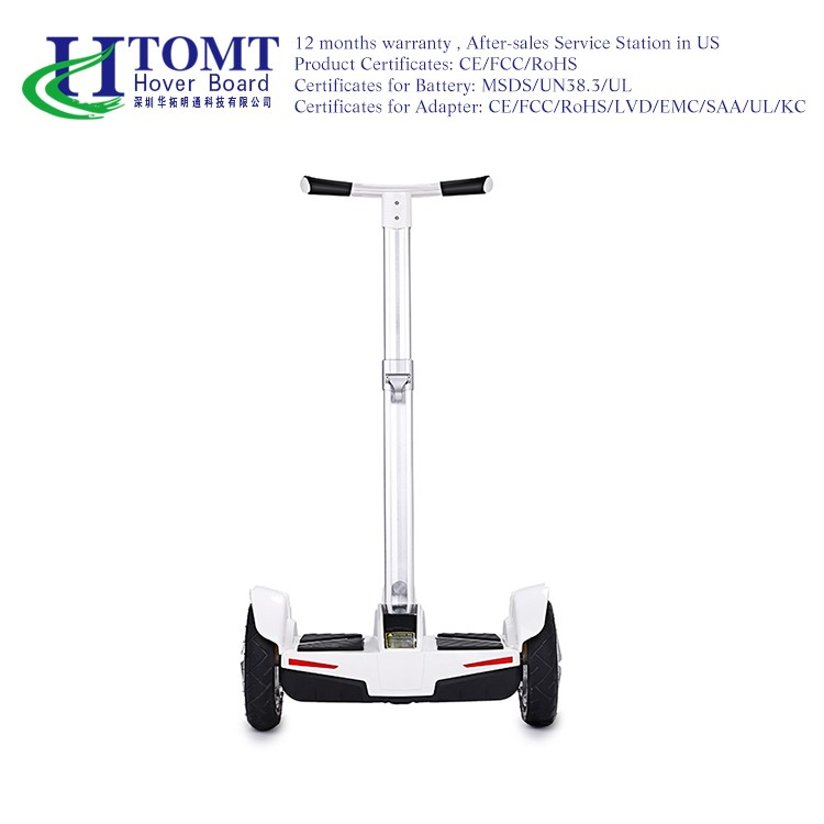 China 2 wheel electic standing scooter handle bar hoverboard 10 inch 2 wheel electric scooter