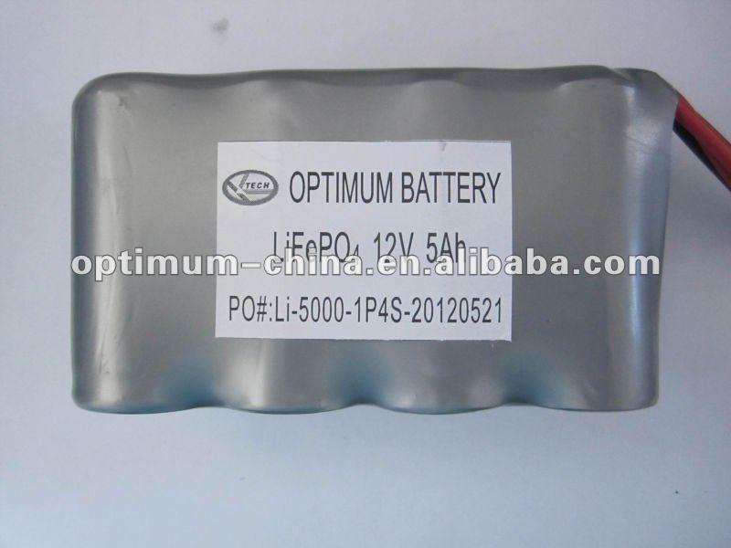 32650LiFePO4 Batteries _12V /5Ah POS Terminal