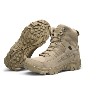 Anti-stripping Nylon Fabric Upper Combat Shoes Army Man Military Boots For Hunting Camping