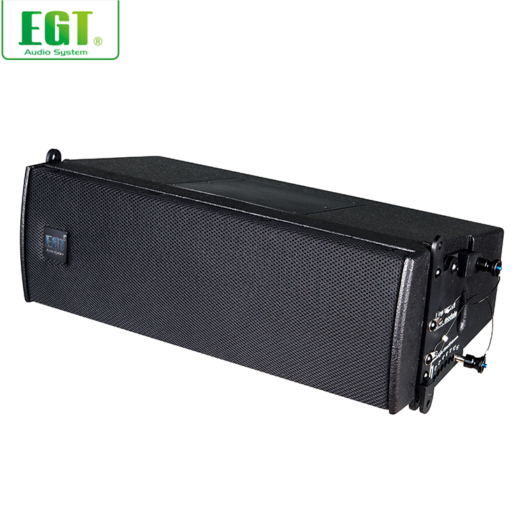 New product 2-way maple plywood enclosure audio passive line array sound system