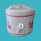 2019 NEW 1.8L Electric Rice cooker white outer shell with red beautiful flowers for home appliance