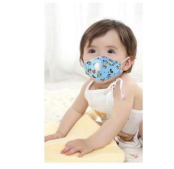 N95 Máscara Válvula Facial máscara Niños máscara Niño Buy Smog La Lavable Algodón De Bebé Válvula Para Boca Mufla - Con