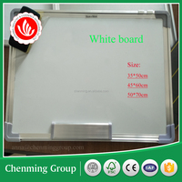 Aluminum frame dry erase one / two sides write board for university shcool