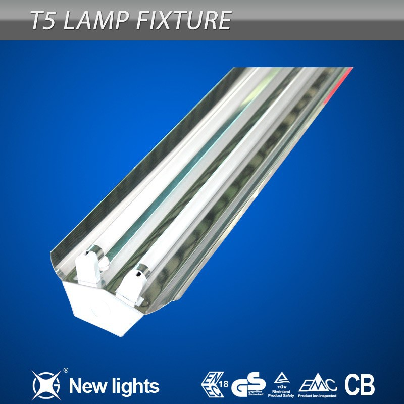 2x28w t5 fluorescent lighting fixture high lumens high quality buy t5 fluorescent lamp intergrated twin tubes light t5 fluorescent lighting