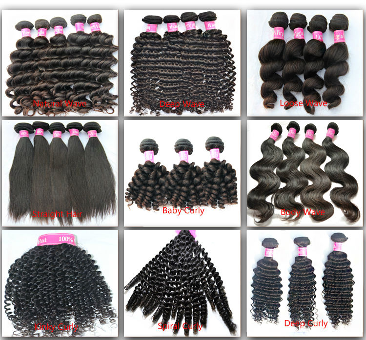 5a Grade Virgin Human Loose Wave 100 Genuine Raw Brazilian Hair