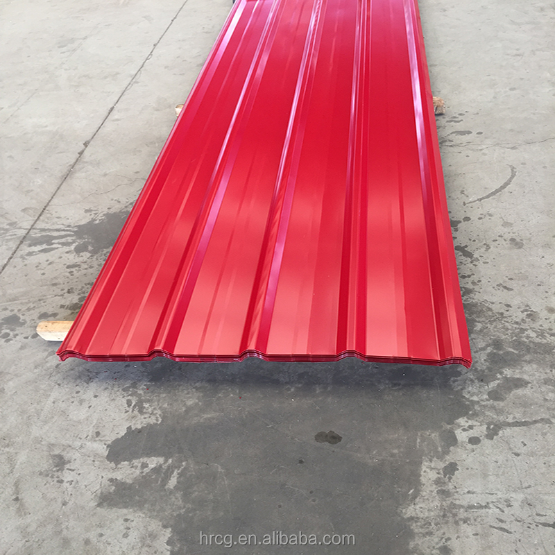 corrugated clad steel plate color coated roofing sheet