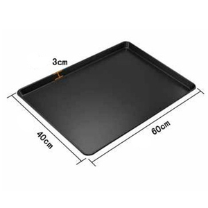 Custom printed china aluminum alloy baking sheet pans for Jordan