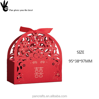 Red Small Wedding Candy Favor Boxes For Sweets Romantic Paper Craft Wedding Candy Gift Box Buy Small Boxes For Sweets Wedding Candy Favor