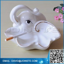 Creative personality ashtray ceramic elephant animal ashtray