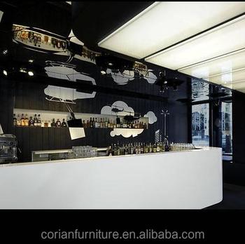 Corianfurniture Modern Design Pub Hotel Restaurant Wine Bar Counter ...