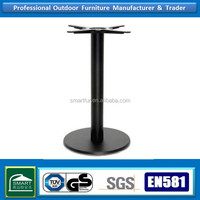 dinning wrought iron table base with marble top