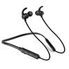 2018 IPX7 Sport Neckband waterproof Bluetooth earphone Black With Microphone