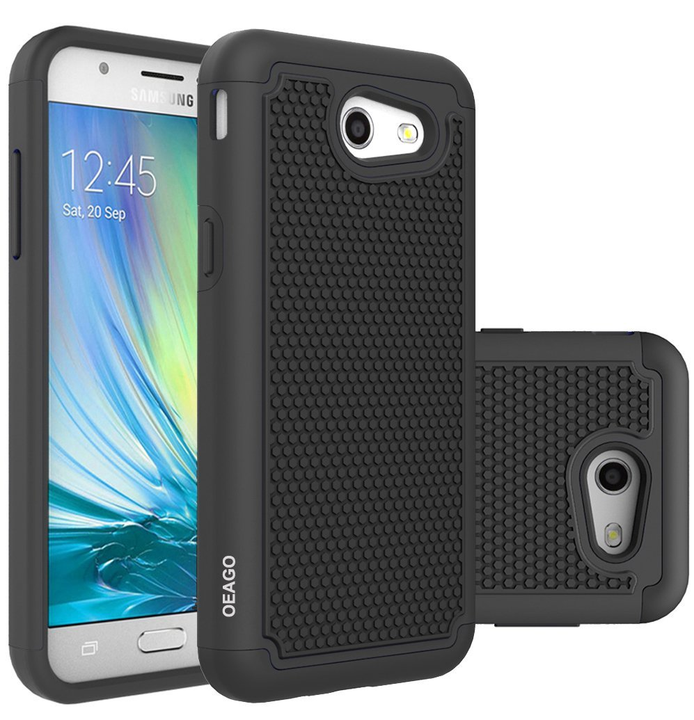 Full Body Shockproof Heavy Duty Rugged Case With Locking Belt Swivel Samsung Galaxy Ace4 Lte Free Memory Card 8gb Clearance  Hitam Get Quotations For J3 Emerge Prime Mission