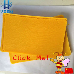 factory wholesale refined pure beeswax brick