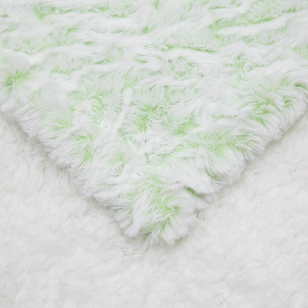 Super soft long hair cashmere baby blanket