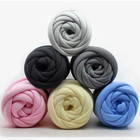 150 denier polyester thick twisted korea wholesale carpet knittin-woven cored chenille cheap blanket yarn