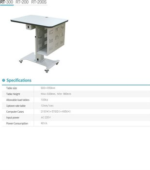 Exam Chairs Table - Ophthalmology Motorized Table - Buy