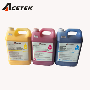 5L Package xaar 382 solvent ink for Acetek inkjet solvent printer