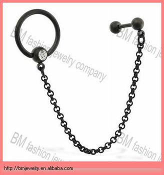 16 Gauge Black Coated Straight Barbell